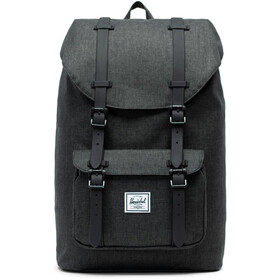 Herschel Little America Mid-Volume Backpack 17l, black crosshatch/black